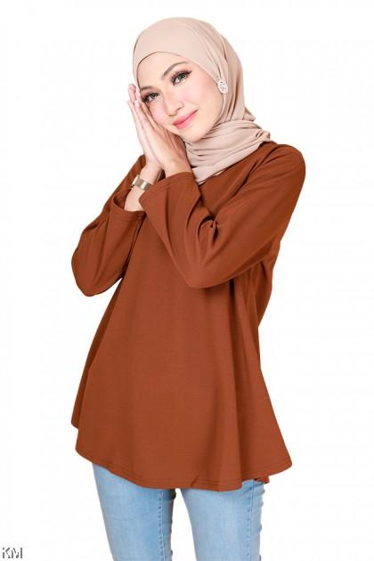 Inaya Peplum Fashion Blouse [B31227]