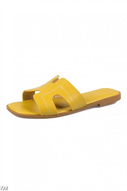 Pastely Hally Flat Sandals [SH31569]