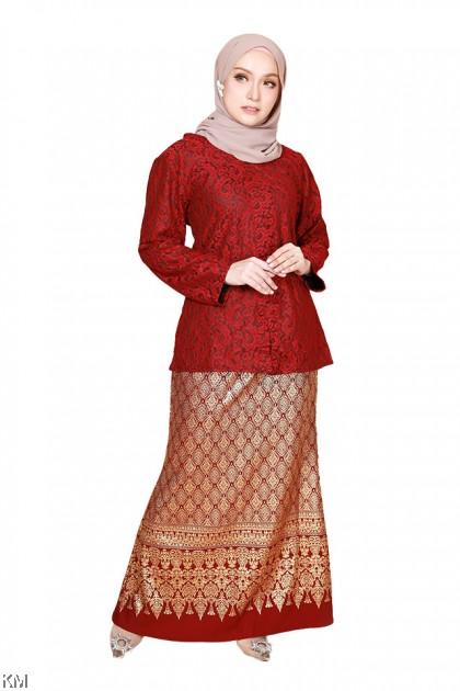 Nelydia Full Lining Baju Kurung [K29258]
