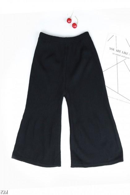 Kids Pleated Elastic Long Pants [P29783]