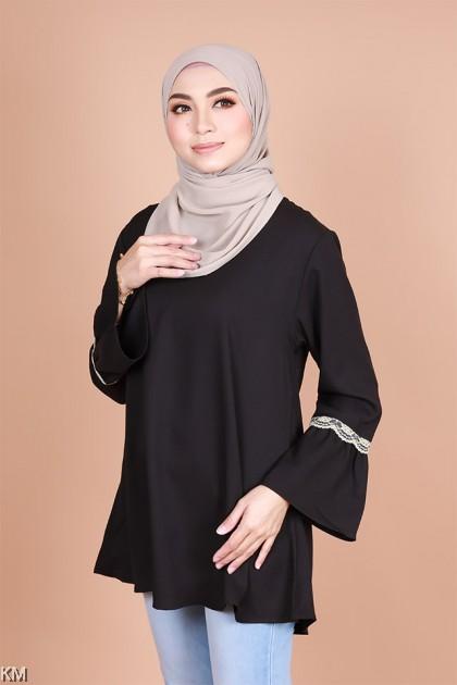 Charlotte Muslimah Flare Blouse [B10264]
