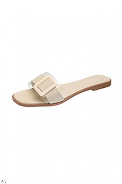 Transparent Squreton Sandals [SH16133]