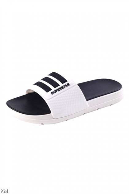 Unisex Superstar Striped Sandals [SH33355] [SH33358]