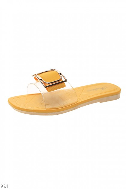 Yvonne Buckle Casual Sandals [SH33411]