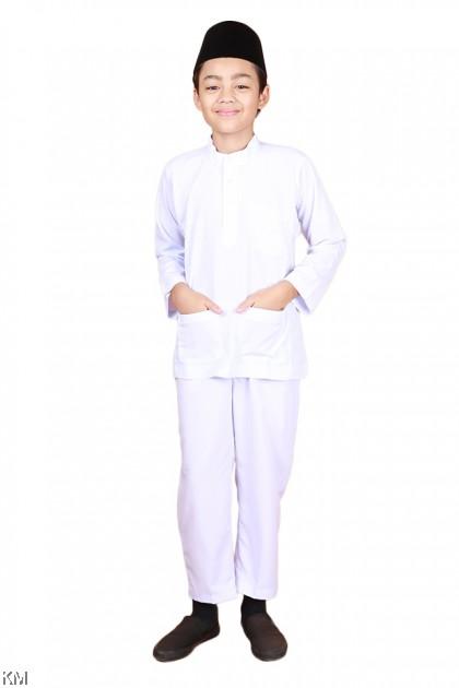 Size 24-40 Baju Melayu Sekolah Agama [M24183]