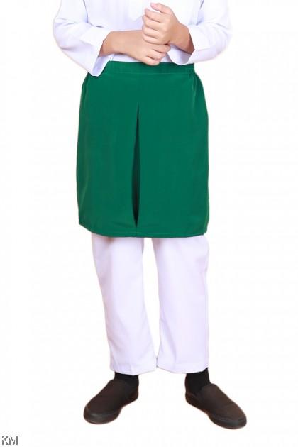 Green Sampin Uniform Baju Sekolah Agama [M24193]