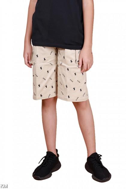 Double Pocket Boy Short Pants [P28770]