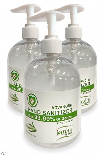 500ml Issteru Advanced Hand Sanitizer [2333]