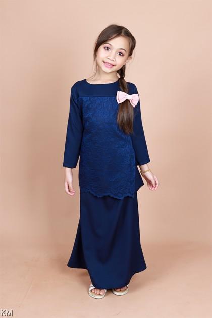 Jamal Kids Lace Baju Kurung Set [K26611]