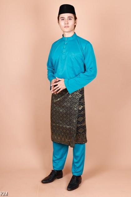 Adult Haikal Size S-XL Morden Baju Melayu Set [M21105]