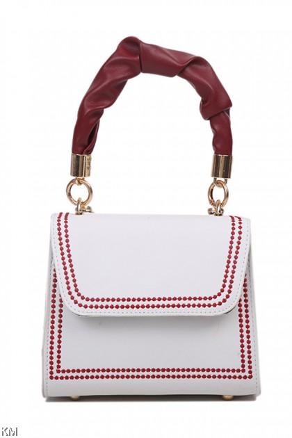Summer Embroidery Line Sling Bag [BG33824]