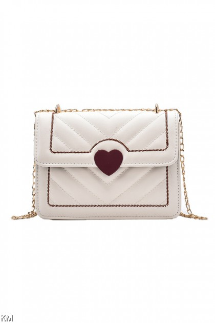 Autumn Love Lock Chain Sling Bag [BG33885]