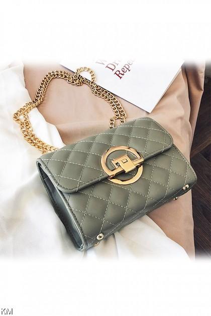 Korean Wild Lock Sling Bag [BG33817]