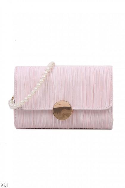 Twig Pearl Strap Chain Sling Bag [BG33980]