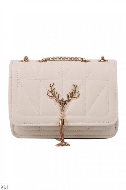 Deer Deco Chain Sling Bag [BG33993]