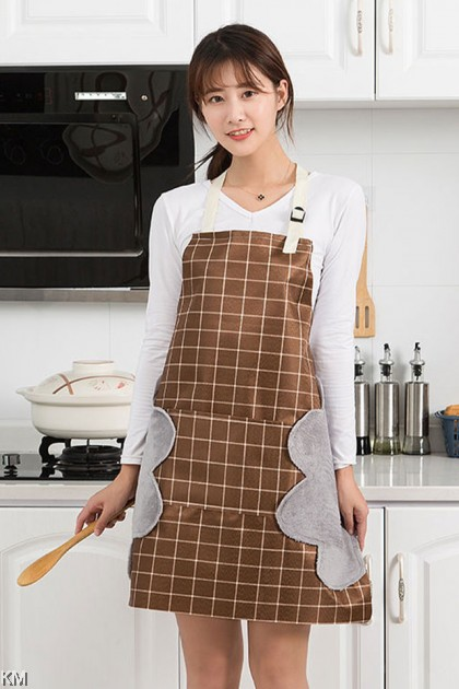 Cooking Apron With Side Towel [M30624] [M30625]