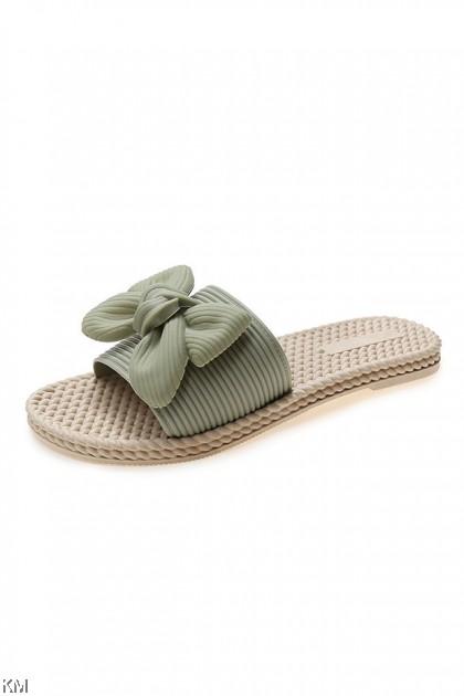 Beryl Straw Weave Sandals [SH31081]