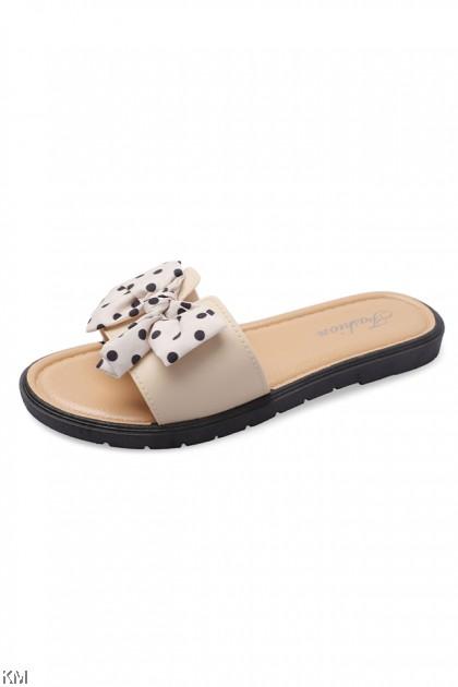 Ribbon Polkamis Sandals [SH31153]