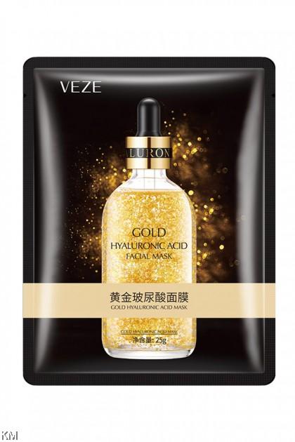 VENZEN Gold Hyaluronic Acid Face Mask [C2362]