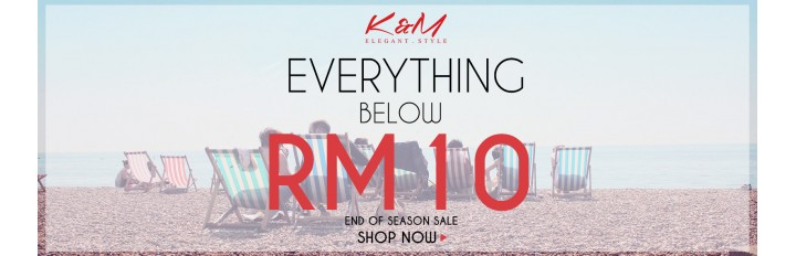 Everything Below RM10