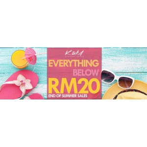 Everything Below RM20