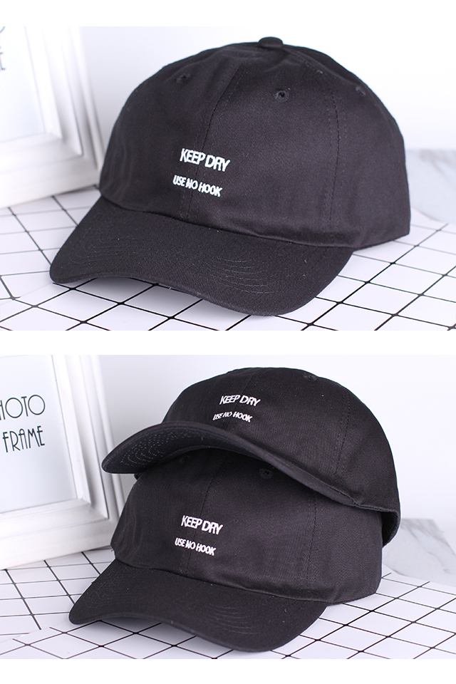 KM Embroidery Baseball Caps Collection 2 [M20380-B]