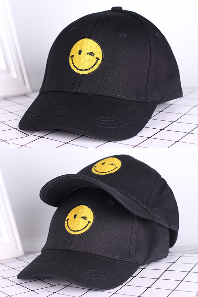 [M1501] Casual Embroidery Baseball Cap