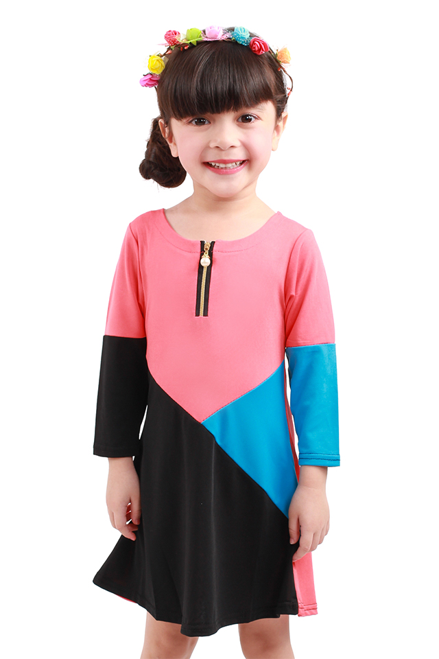 Kids Casual Dress [M25364/M25365]