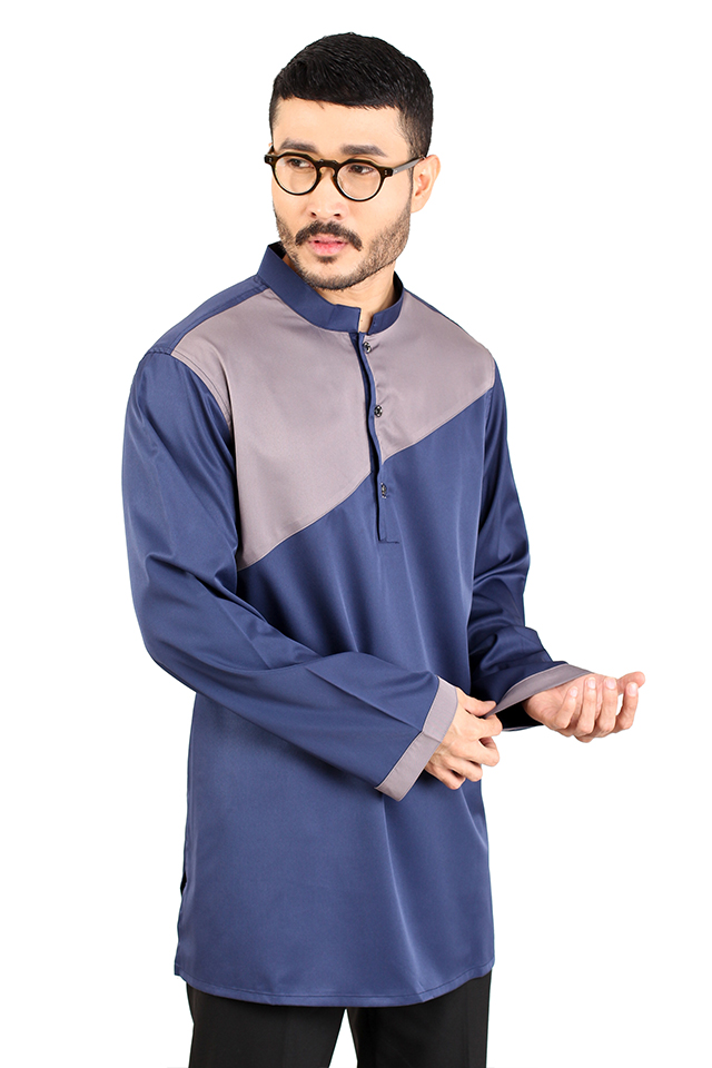 Men Inclined Cut Kurta [M12041]