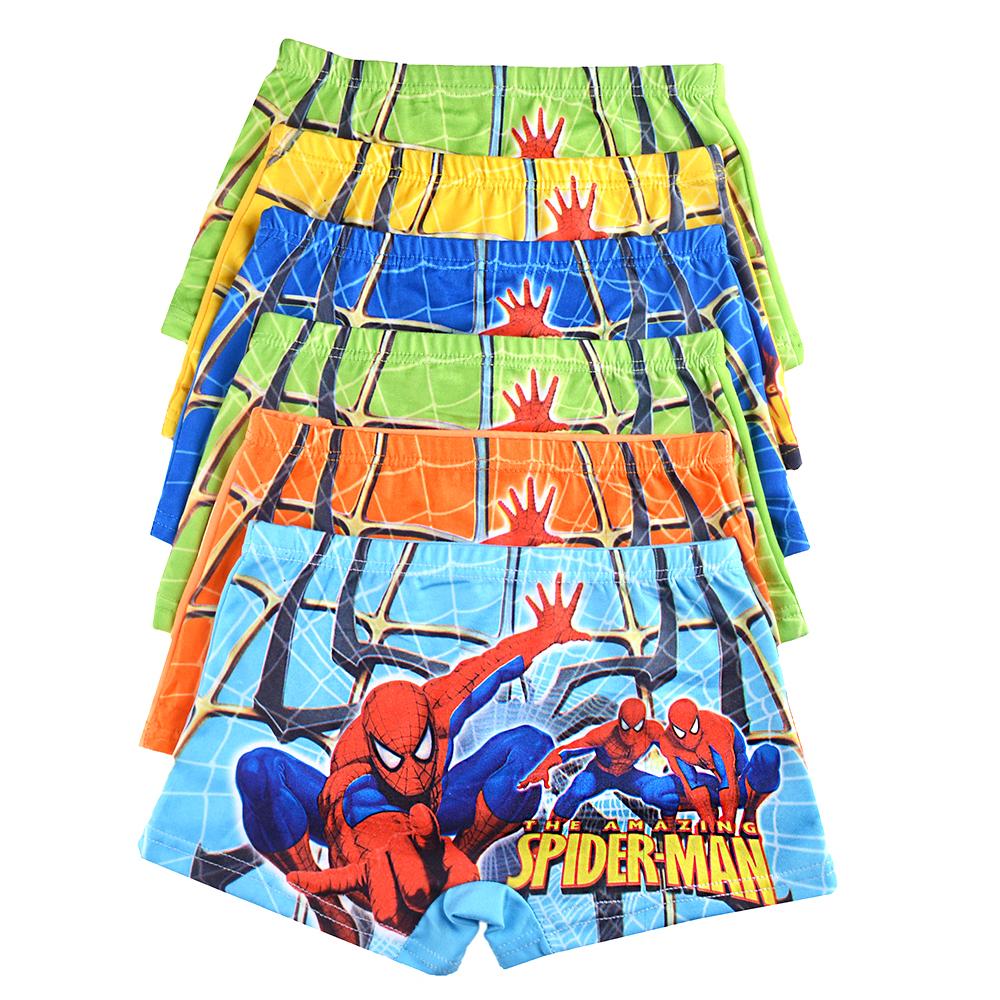 Spiderman Cartoon Underware 6pcs Per pack