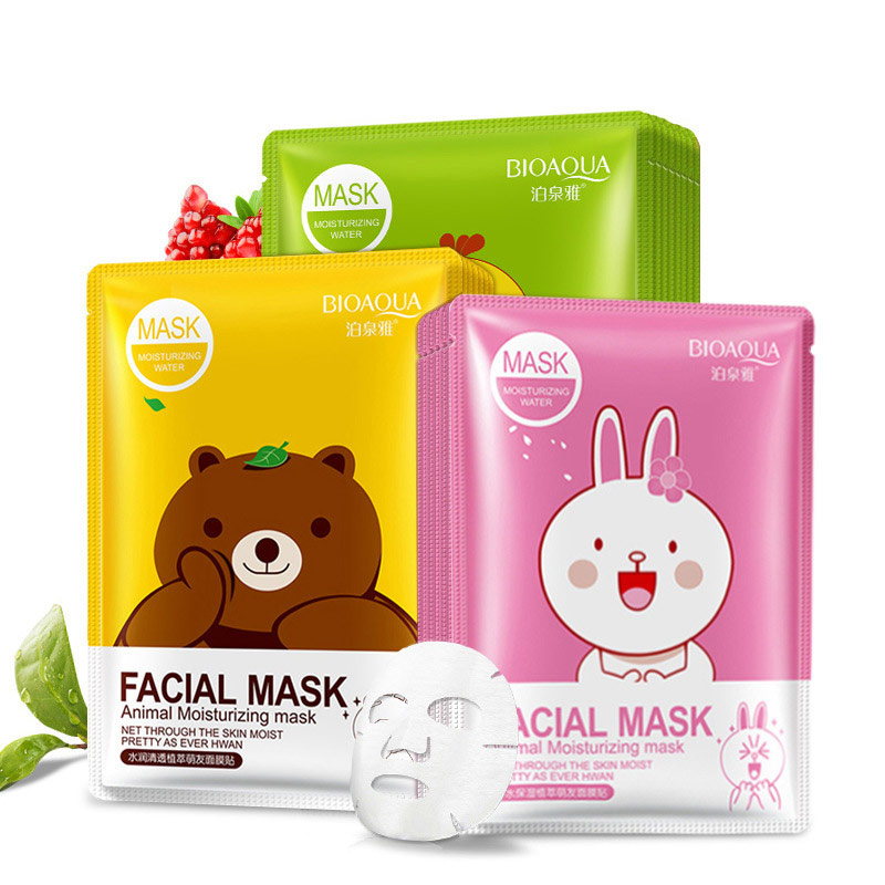 Cartoon Facial Sheet Mask [C476]