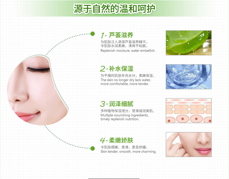 Moisturizing Jelly Face Mask [C487]