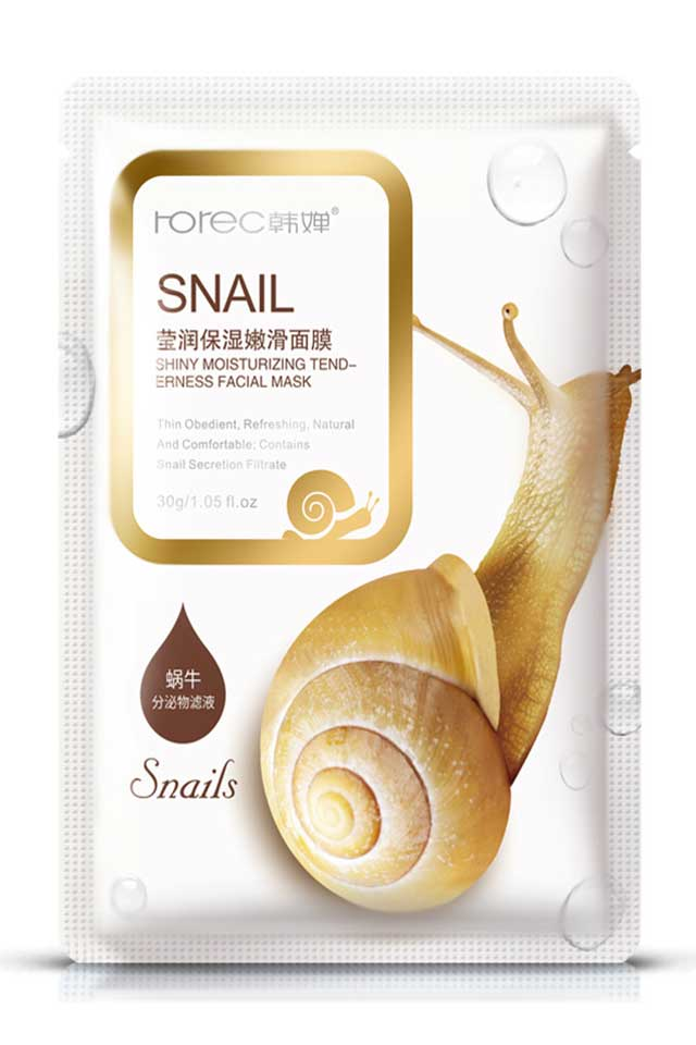 ROREC Snail Soothing Facial Mask [C545]