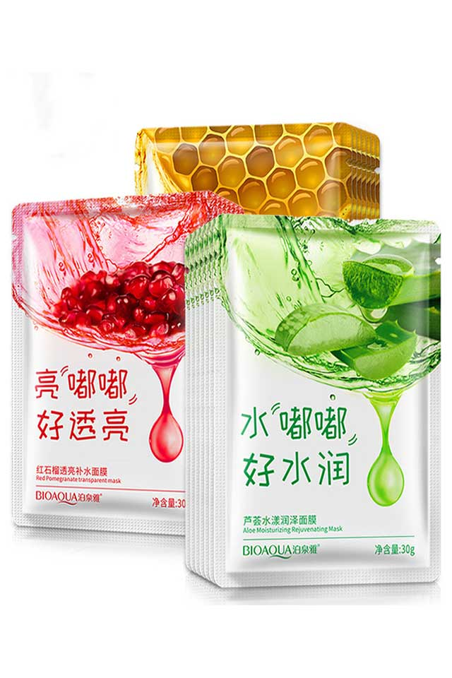 BIOAQUA Natural Moisturizing Face Mask [C549]