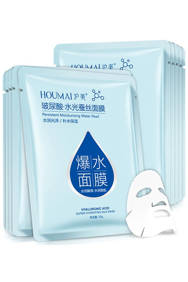 HOUMAI Hyaluronic Acid Water Pearl Silk Mask [C460]