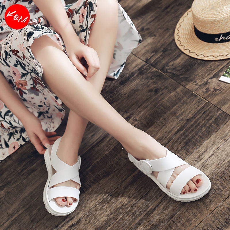 Jade Jelly Sandal Flat Shoes [SH25071]