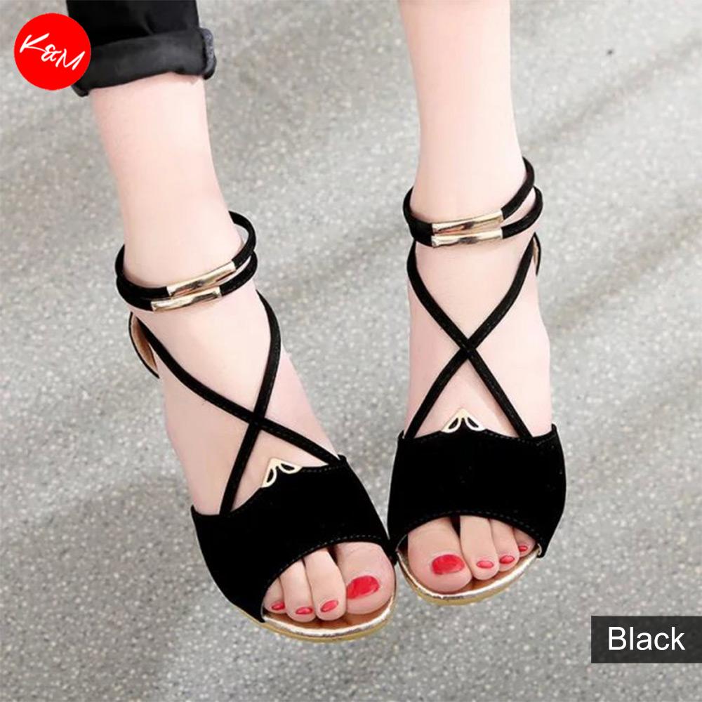 Metal X Women Wedges Sandals [SH1012]