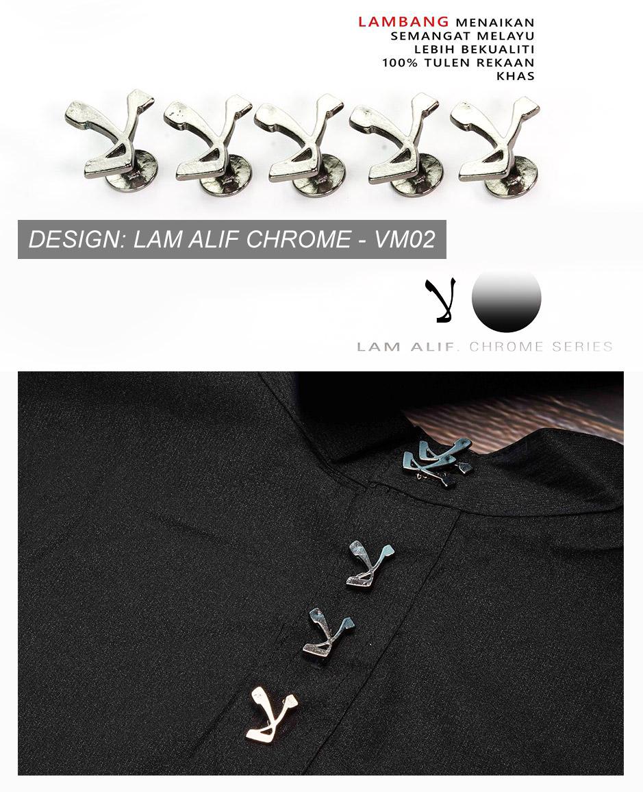 ZEN Exclusive 5pcs Warisan Button Baju Melayu [VM87]