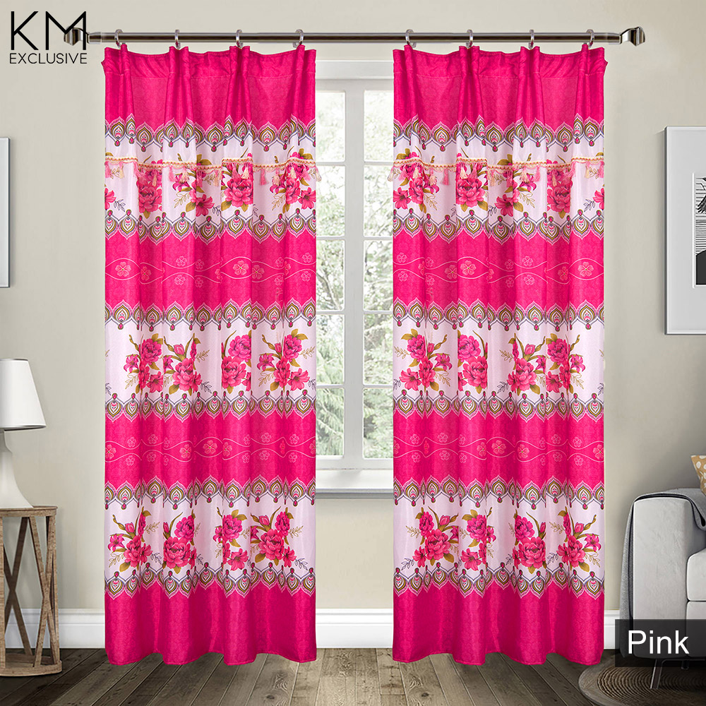 1 to 2pcs Parallel Roses Curtain [H1689]