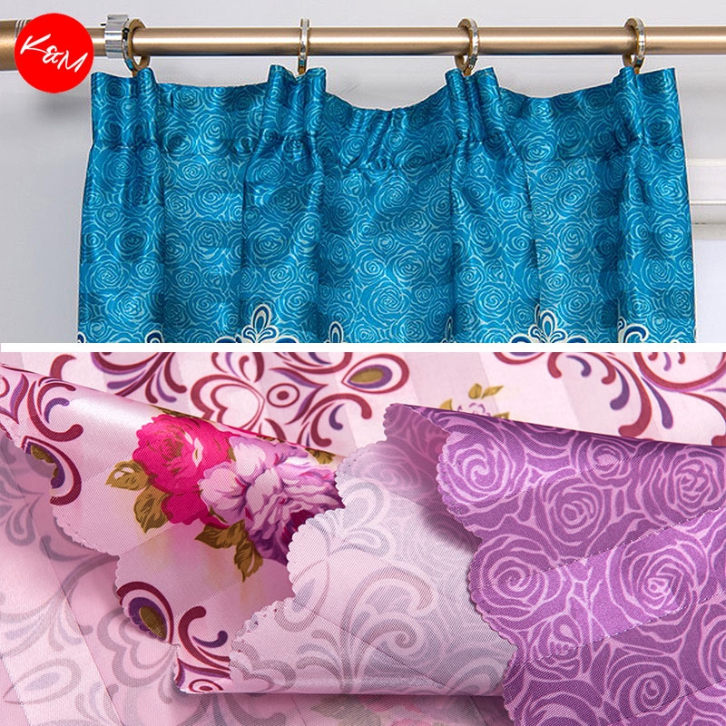 1 to 3pcs Vintage Roses Curtains [H17583]