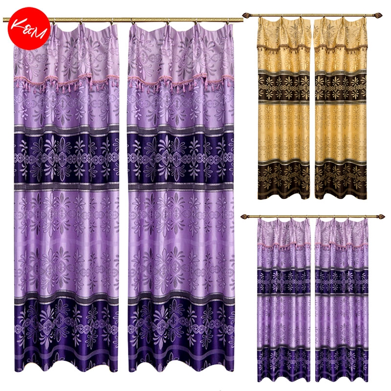 1 to 3pcs Glam Vintage Curtain [H17729]