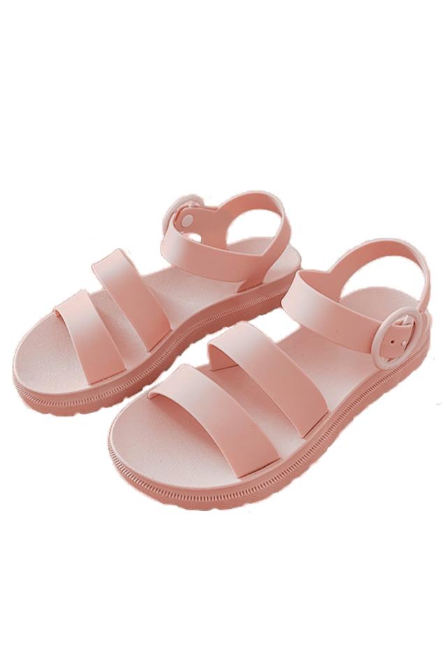 Double Clip Wedges Sandals [SH29510]