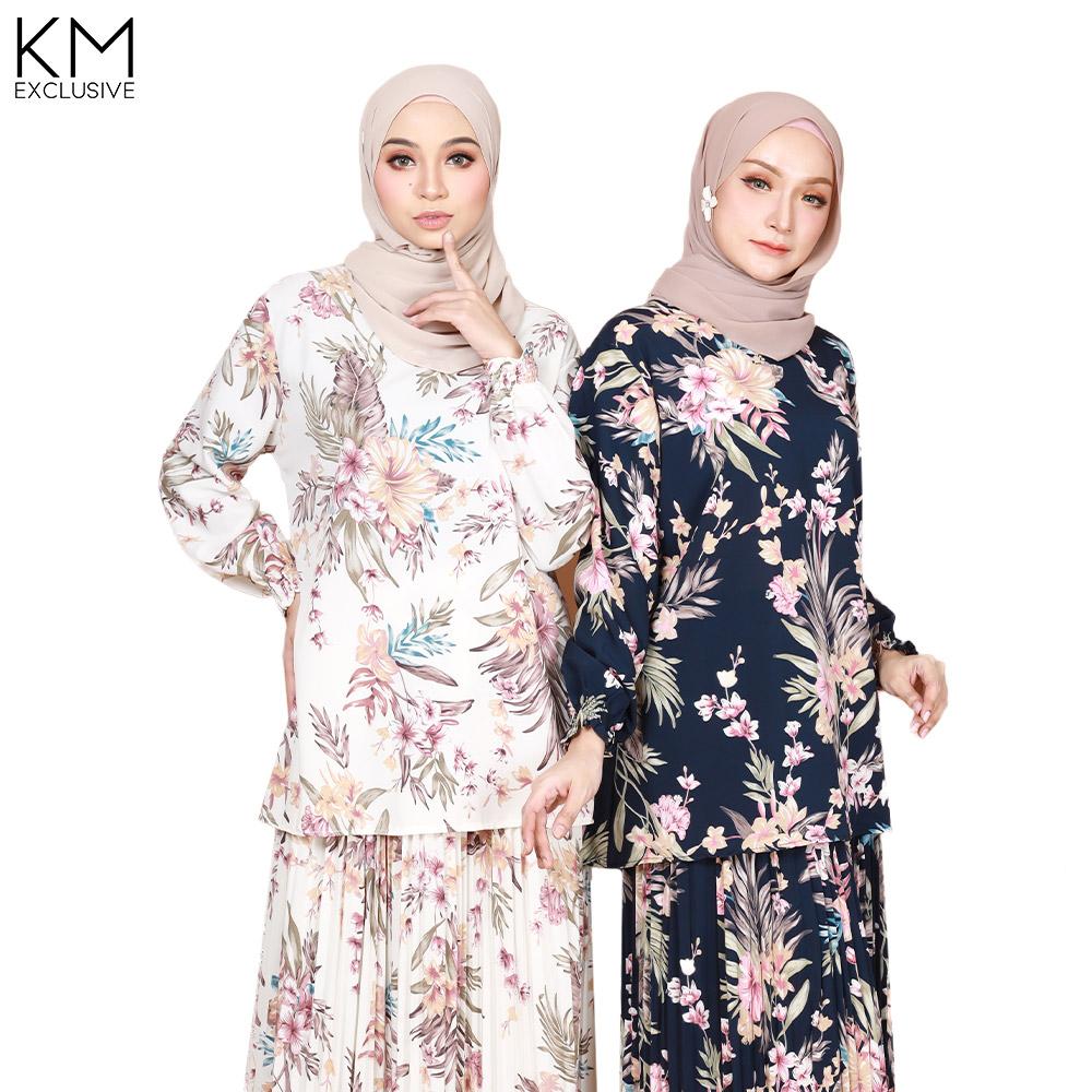 Qeesya Tropical Baju Kurung Set [K25841]
