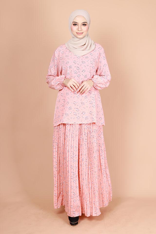 Myra Fully Printed Baju Kurung Set [K25842]