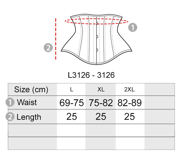 Upgraded Slim Body Corset Shapewear [L3126]