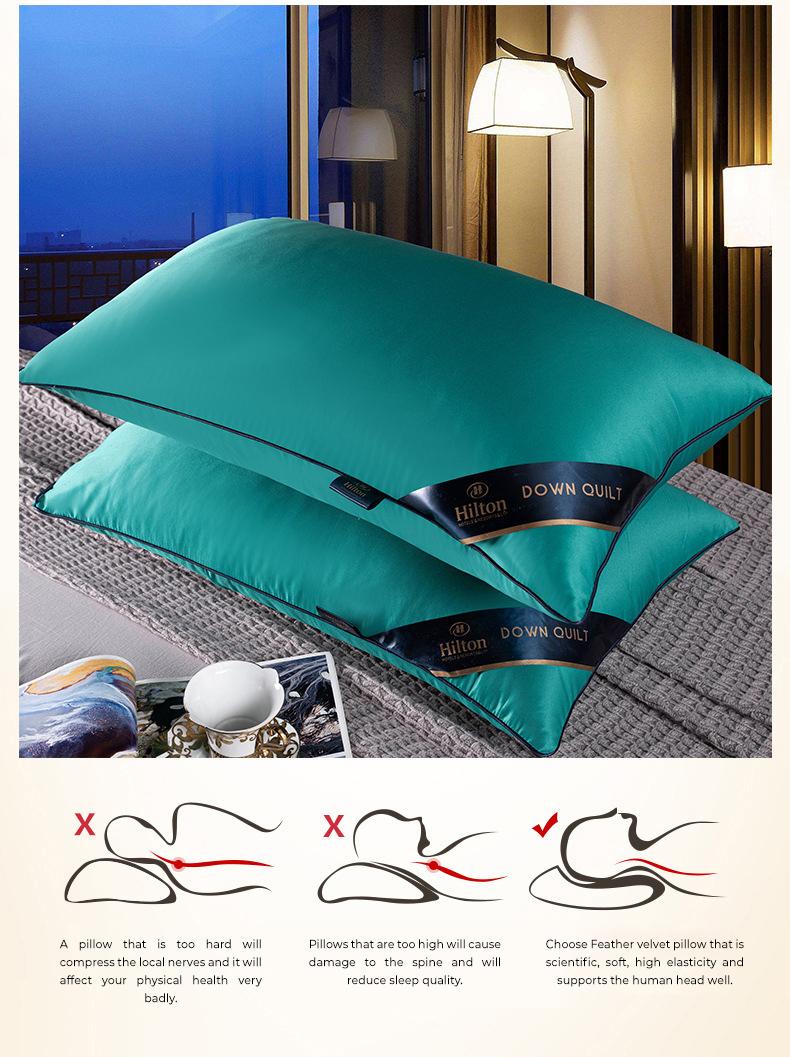 5 Stars Hotel Hilton Pillow [1891] [1930] [2219]