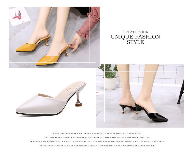 Summer Sexy Concise Pointed High Heels [SH22951]