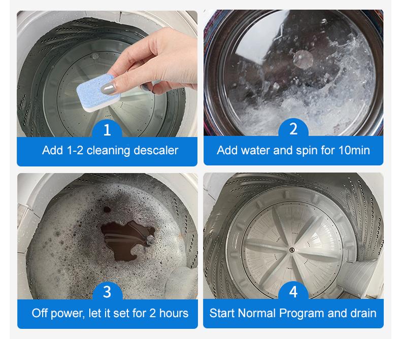 Washing Machine Tablet Cleaner [2116]