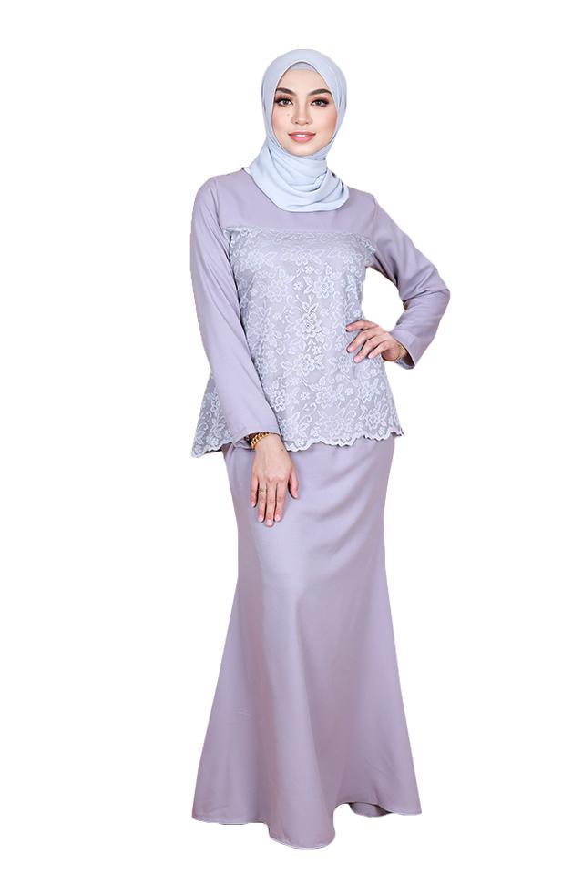 Jamal Adult Lace Baju Kurung Set [K26693]