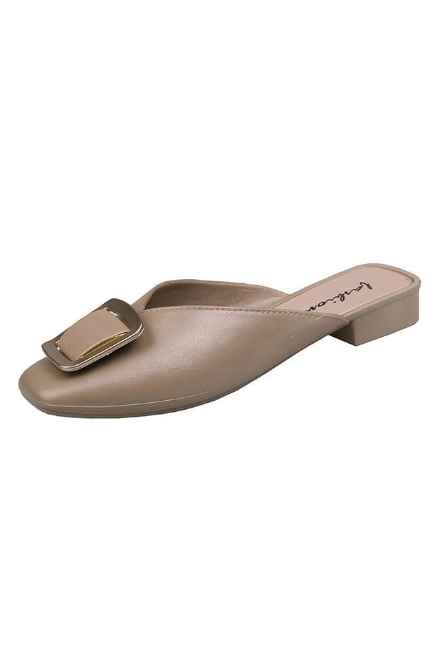 Alumany Cover Flat Sandals [SH32849]